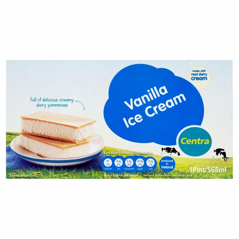 Centra Vanilla Ice Cream 568ml