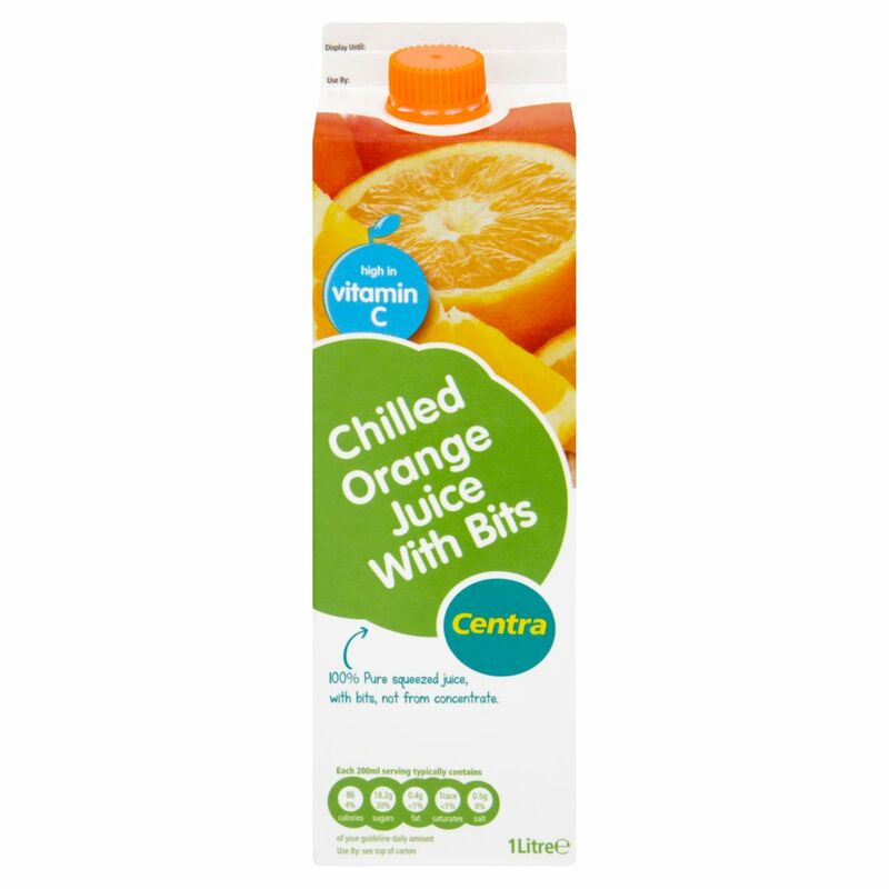 Centra Chilled Orange Juice with Bits 1 Litre