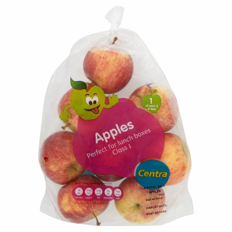 Centra Family Value Apple Bag 8Pce