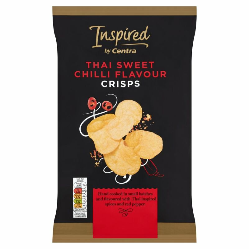 Inspired by Centra Thai Sweet Chilli Flavour Crisps 125g