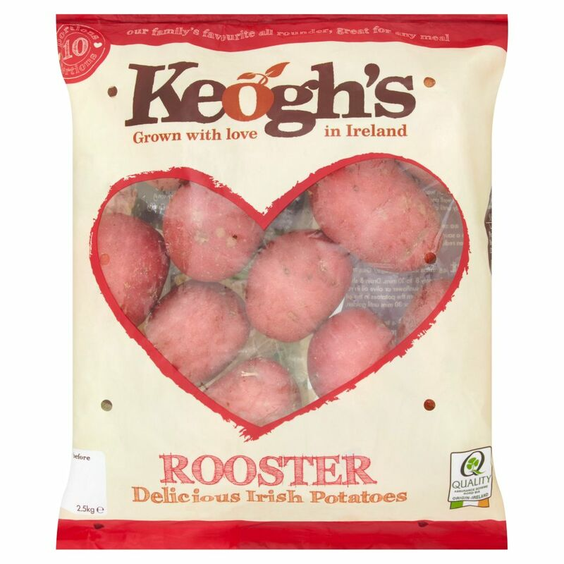 Keogh's Rooster Irish Potatoes 2.5kg