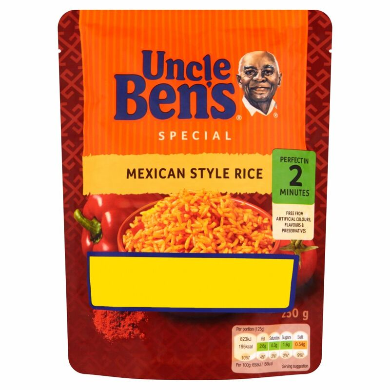 UNCLE BEN'S® Special Mexican Style Rice 250g