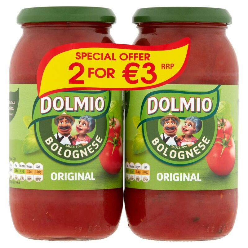 DOLMIO® Sauce for Bolognese Original 2 x 500g