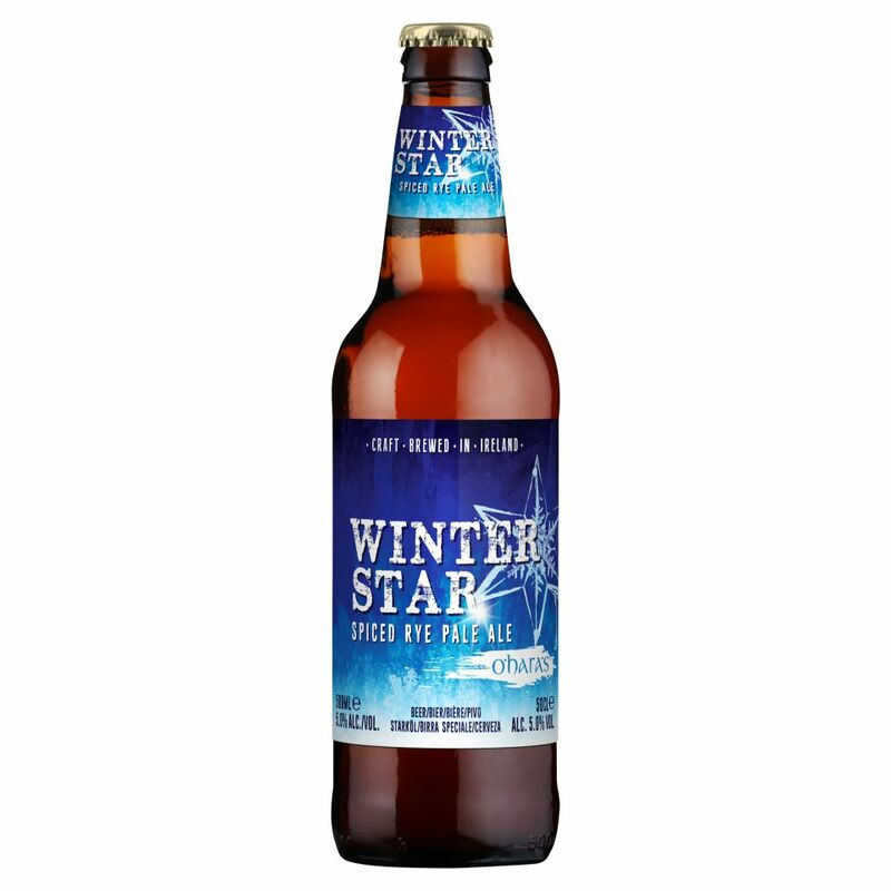 O'Hara's Winter Star Spiced Rye Pale Ale 500ml