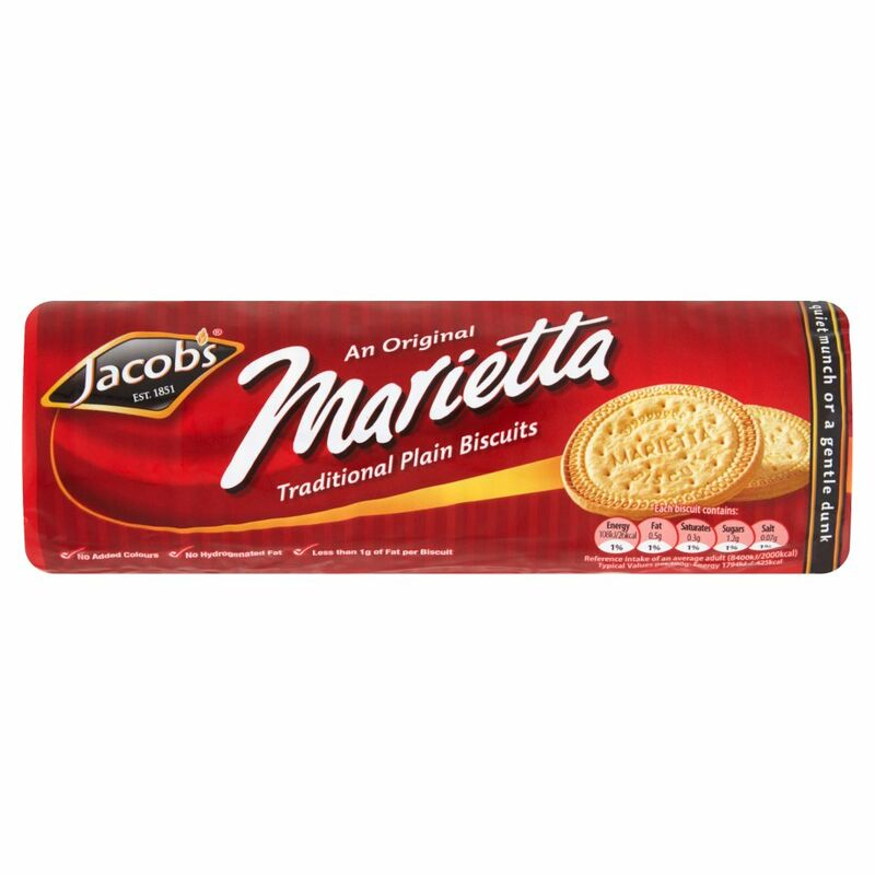 Jacob's An Original Marietta Traditional Plain Biscuits 200g
