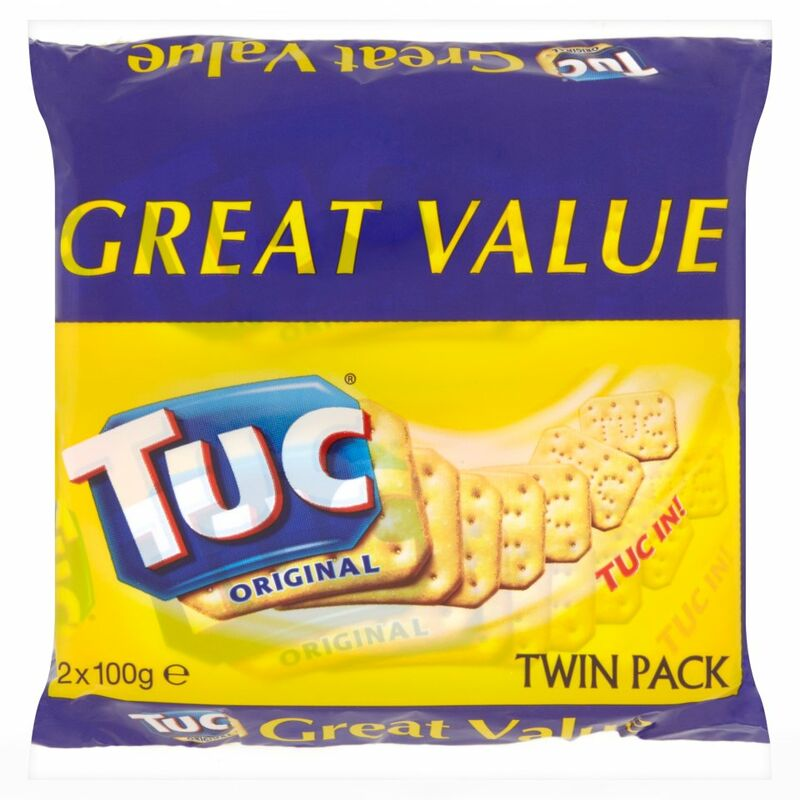 Tuc Original Twin Pack 2 x 100g