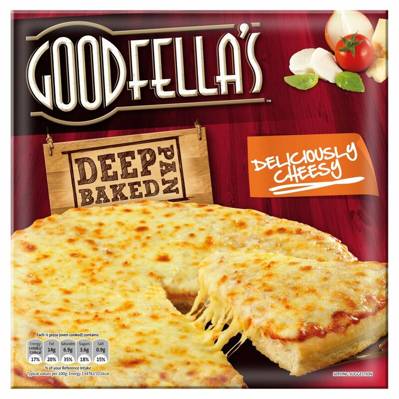 Goodfella's Deep Pan Baked Deliciously Cheesy Pizza 417g