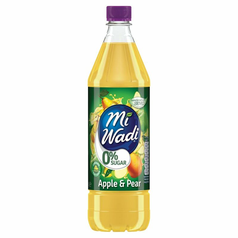 Mi Wadi 0% Sugar Apple & Pear 1L