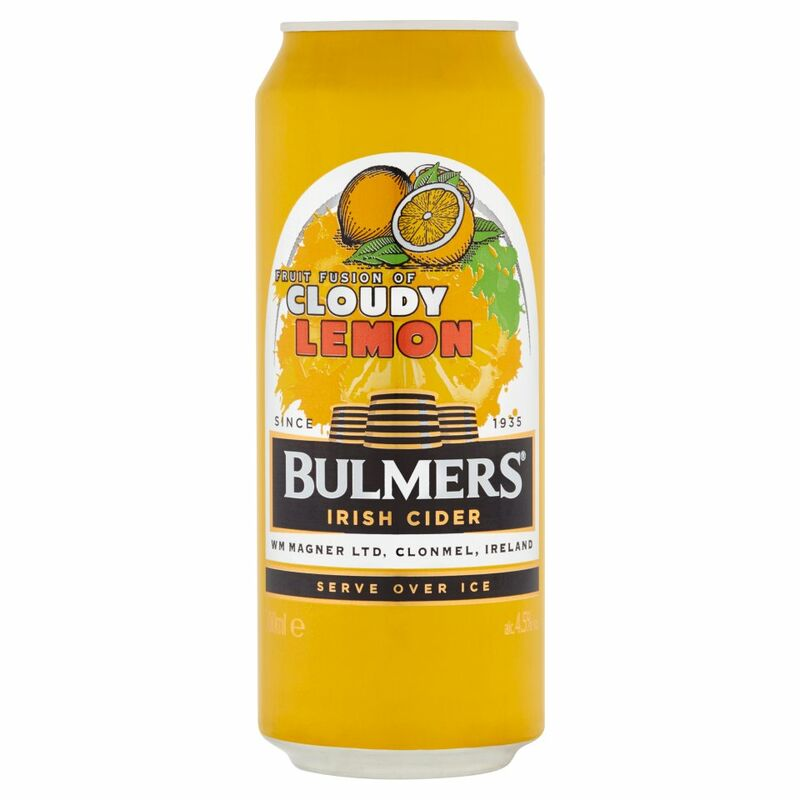 Bulmers Irish Cider Cloudy Lemon 500ml Can