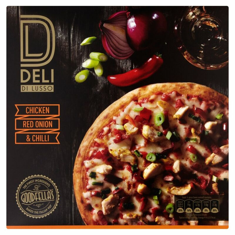 Goodfella's Deli Di Lusso Chicken, Red Onion & Chilli 373g