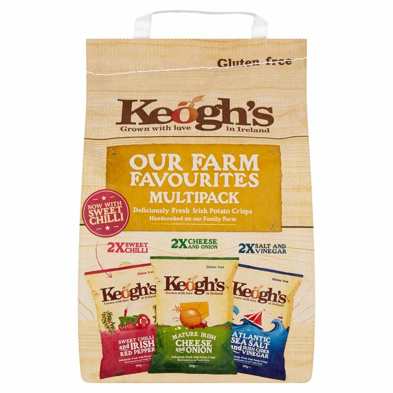 Keogh's Our Farm Favourites Multipack 6 x 30g (180g)