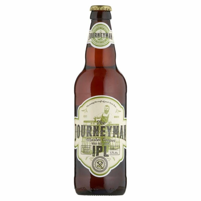 The Journeyman India Pale Lager IPL 500ml