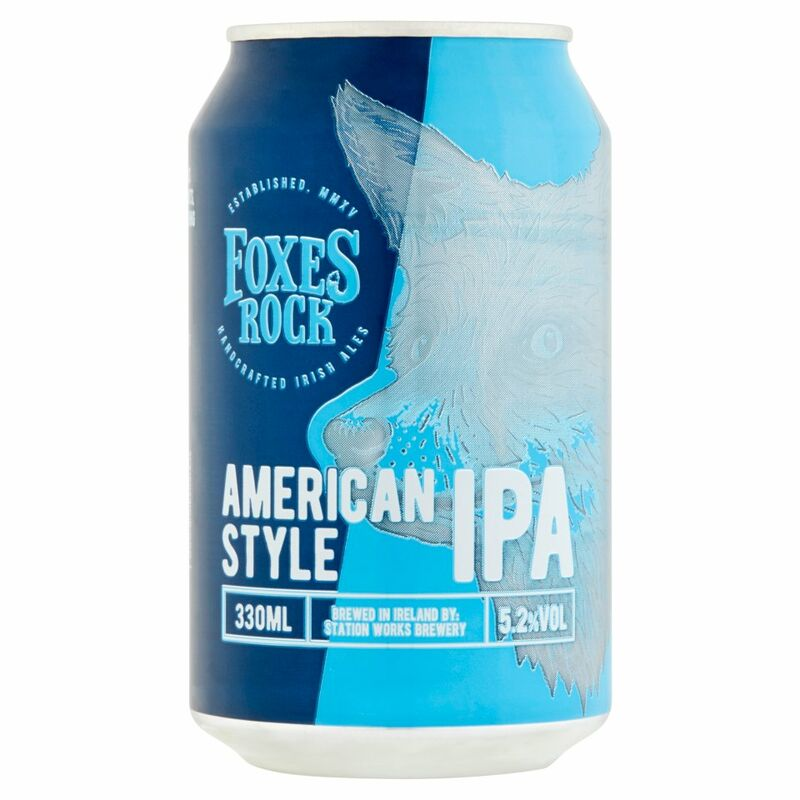 Foxes Rock American Style IPA 330ml