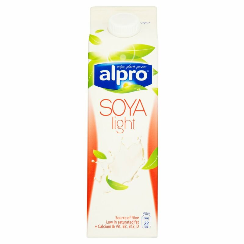 Alpro Dairy Free Soya Light Fresh Milk Alternative 1L