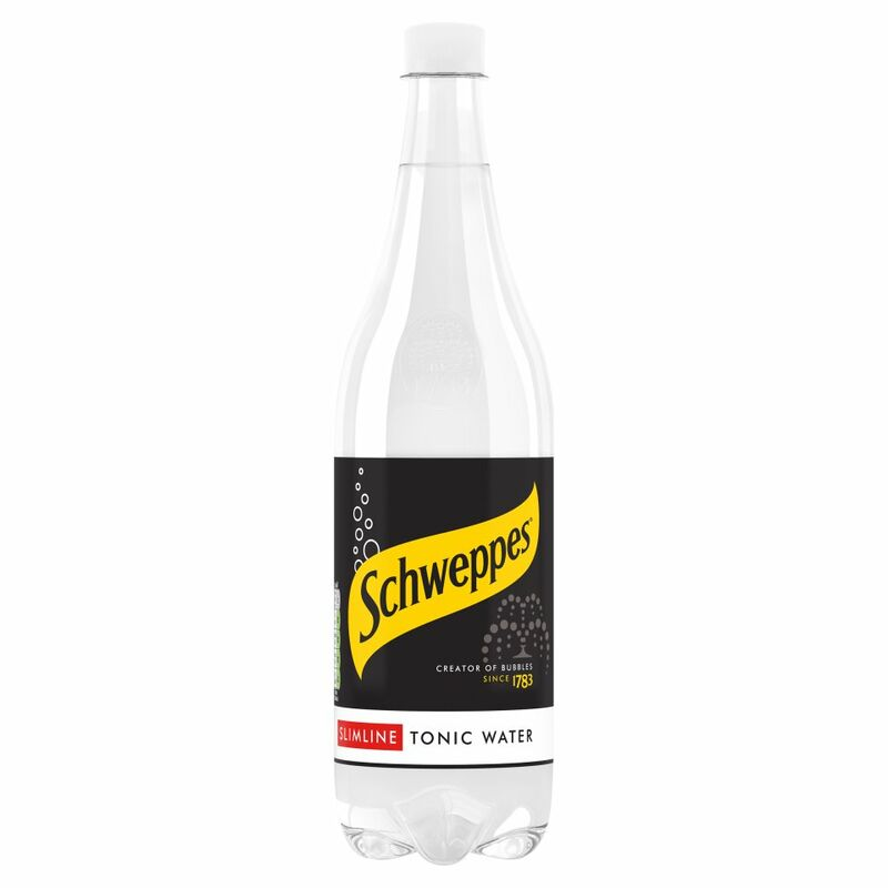 Schweppes Slimline Indian Tonic Water 1L