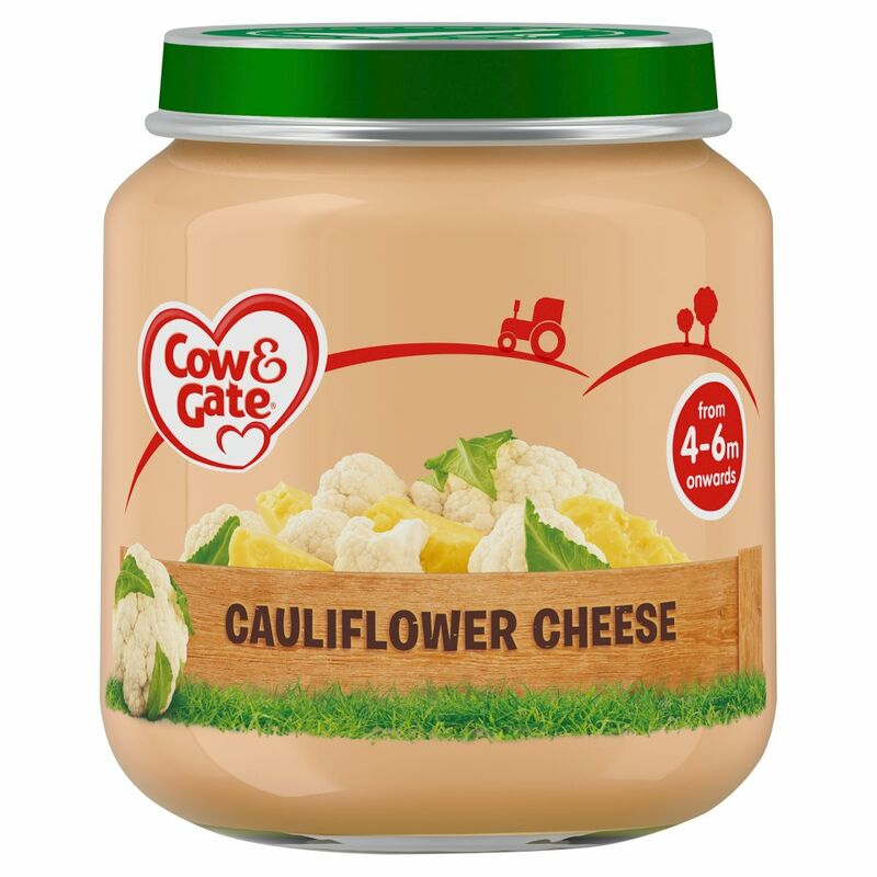 Cow & Gate Cauliflower Cheese from 4-6m Onwards 125g