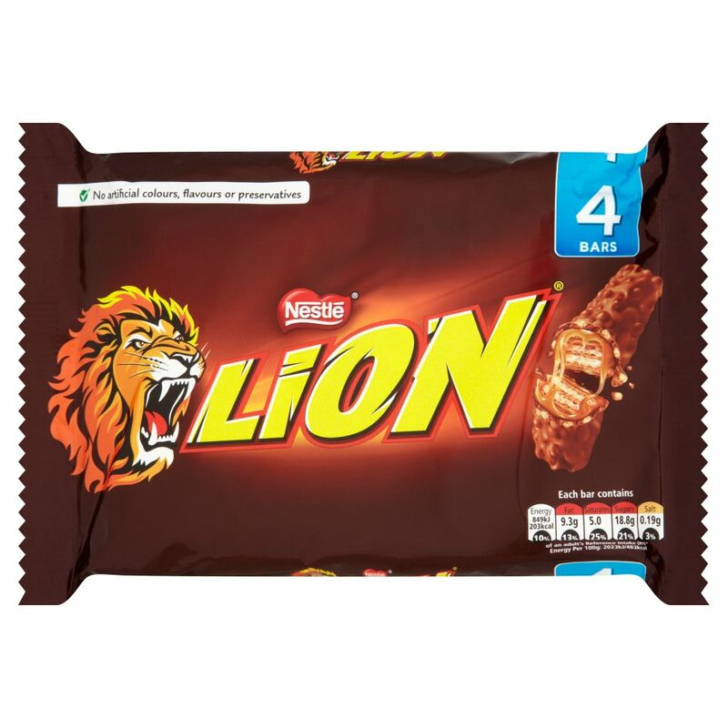 LION Milk Multipack 4 x 42g