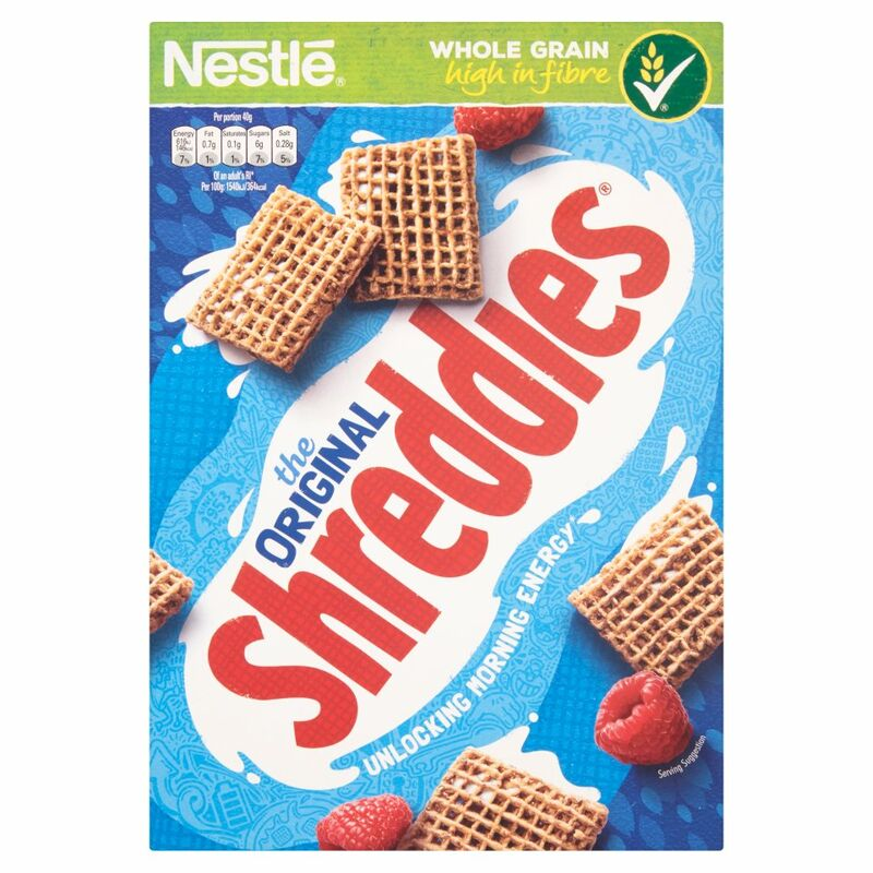NESTLE ORIGINAL SHREDDIES Cereal 415g Box