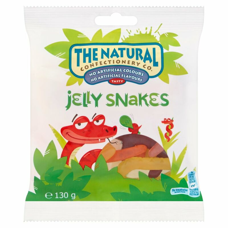 The Natural Confectionery Co. Jelly Snakes 130g