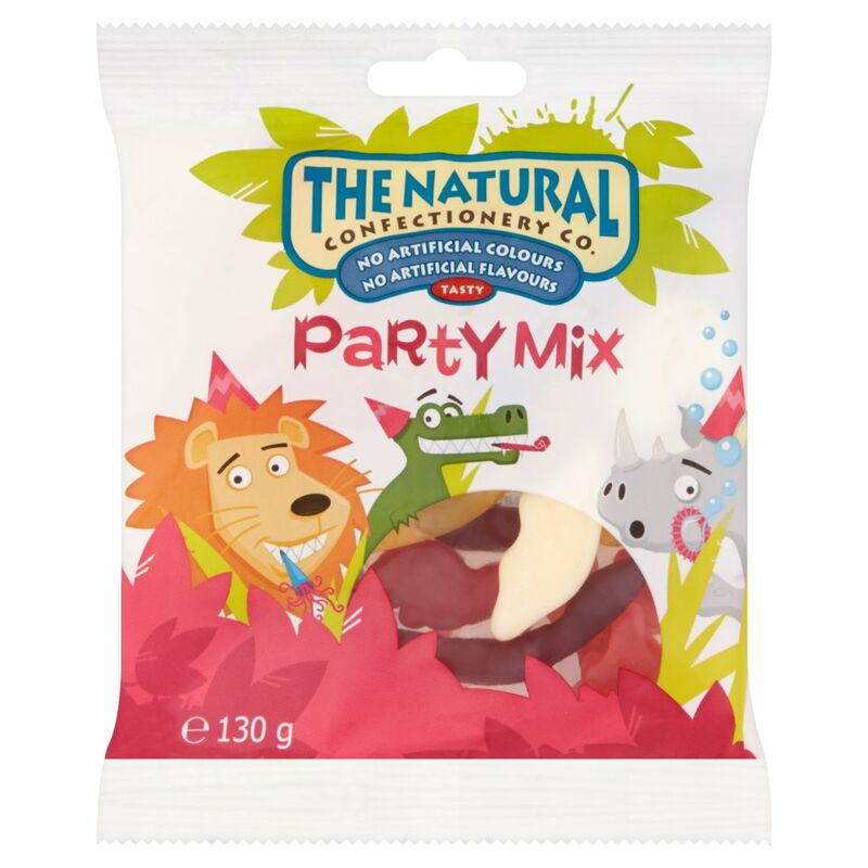 The Natural Confectionery Co. Party Mix 130g