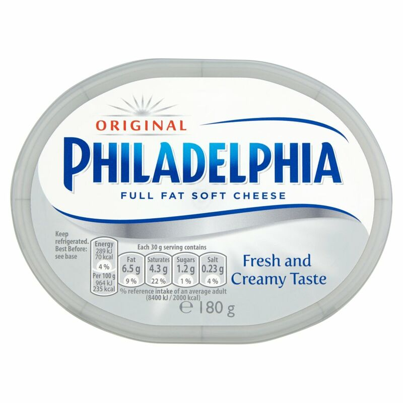 Philadelphia Original Soft White Cheese 180g