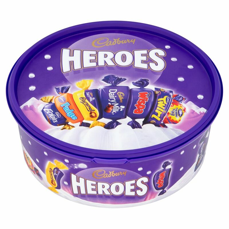 Cadbury Heroes Chocolate Tub 660g