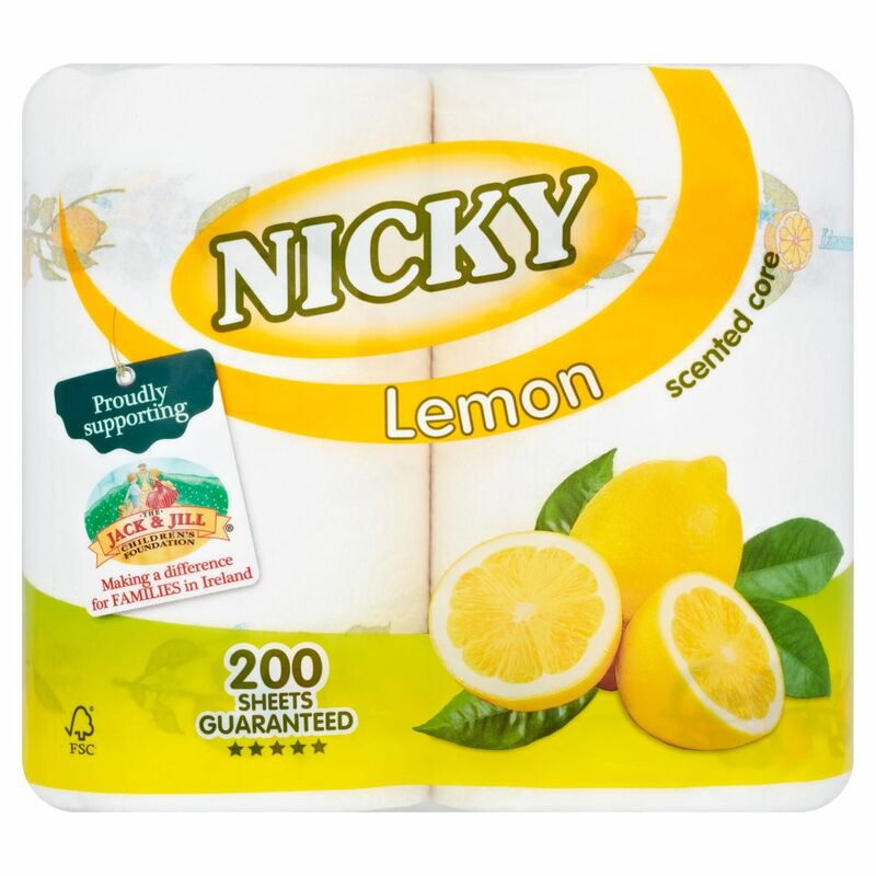 Nicky Lemon Scented Core 2 Rolls