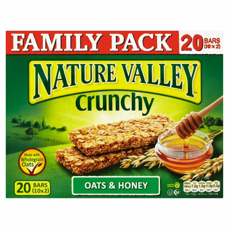 Nature Valley Crunchy Oats & Honey Granola Bars Family Pack