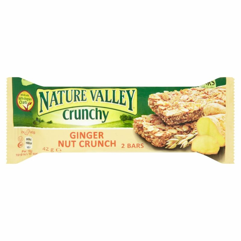 Nature Valley Crunchy Ginger Nut Crunch 2 Bars 42g