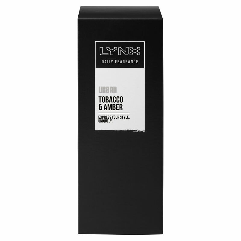 Lynx Urban Daily Fragrance Tobacco & Amber 100ml