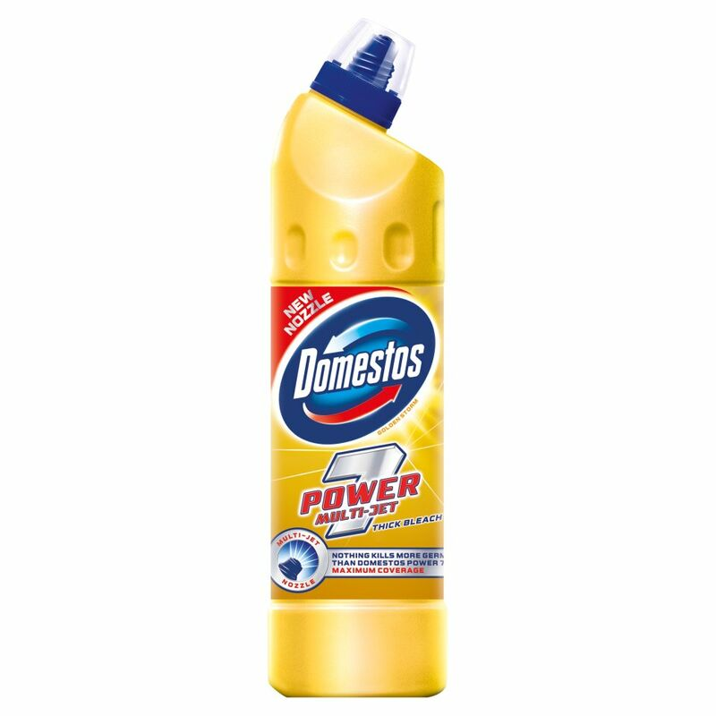 Domestos Power 7 Bleach Golden Storm 750ml