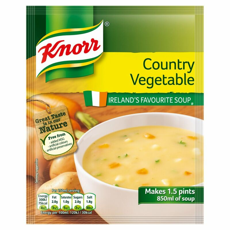 Knorr Soup Sach Country Veg 14x1.5pt