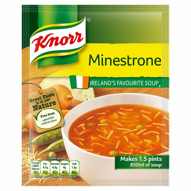 Knorr Soup Sach Minestrone 14x1.5pt