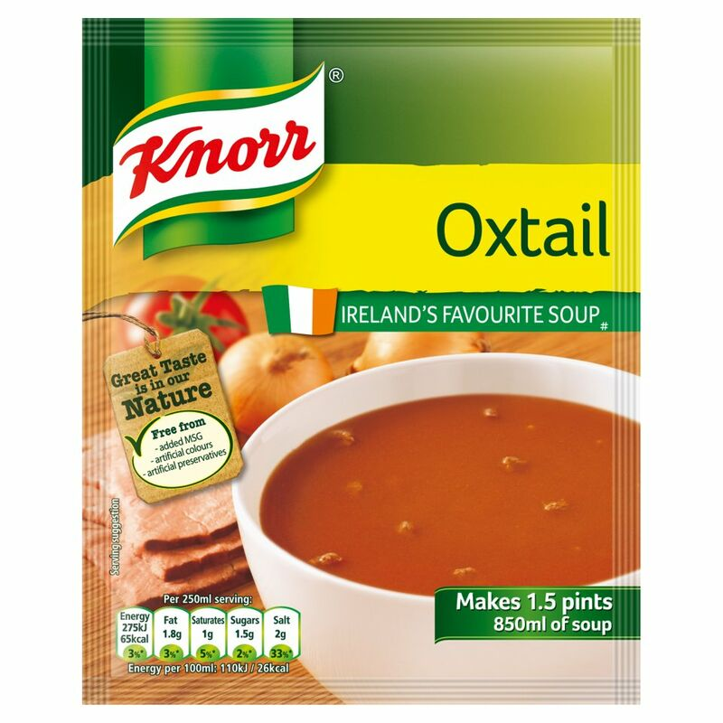 Knorr Soup Sach Oxtail 14x1.5pt