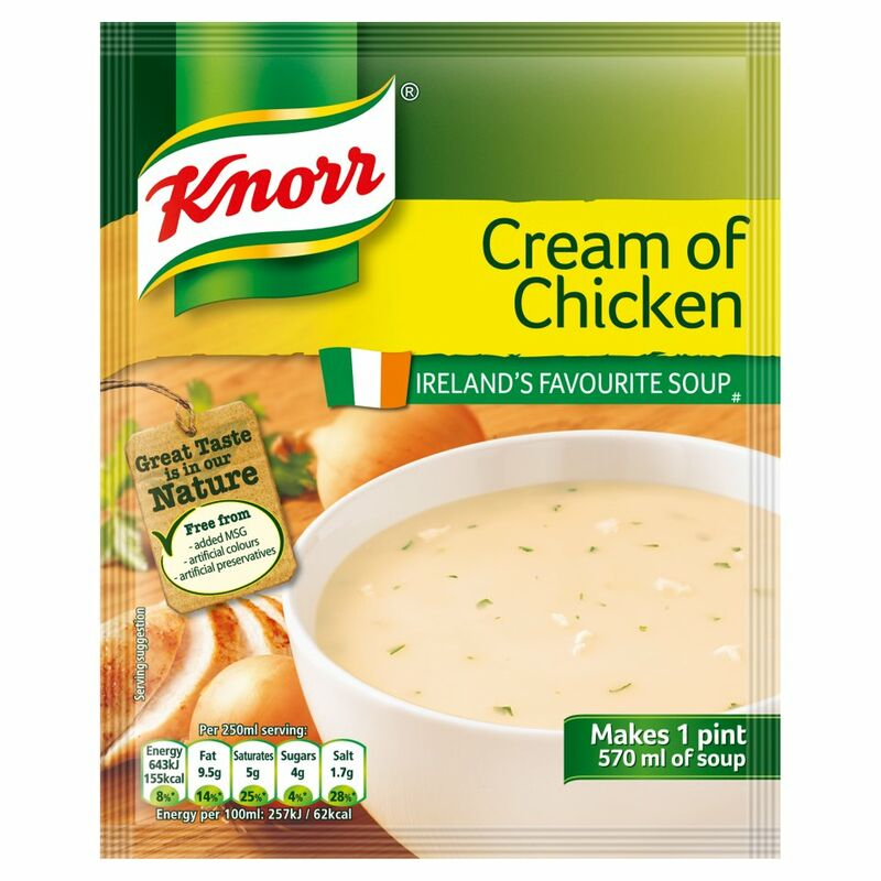 Knorr Soup Sach Cream Chicken 14x1pt