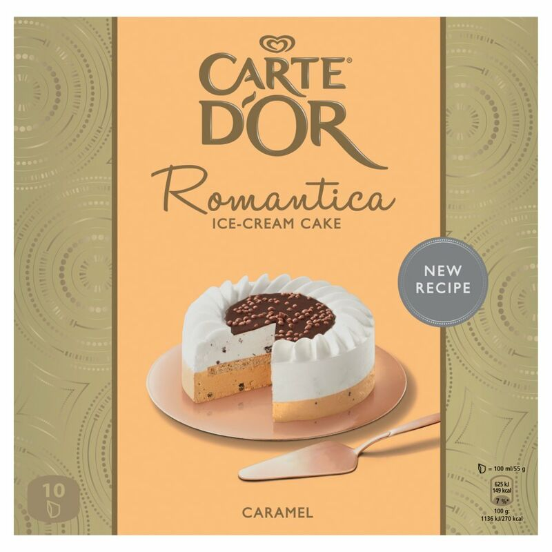 Romantica Caramel Ice-Cream Dessert 1000ml