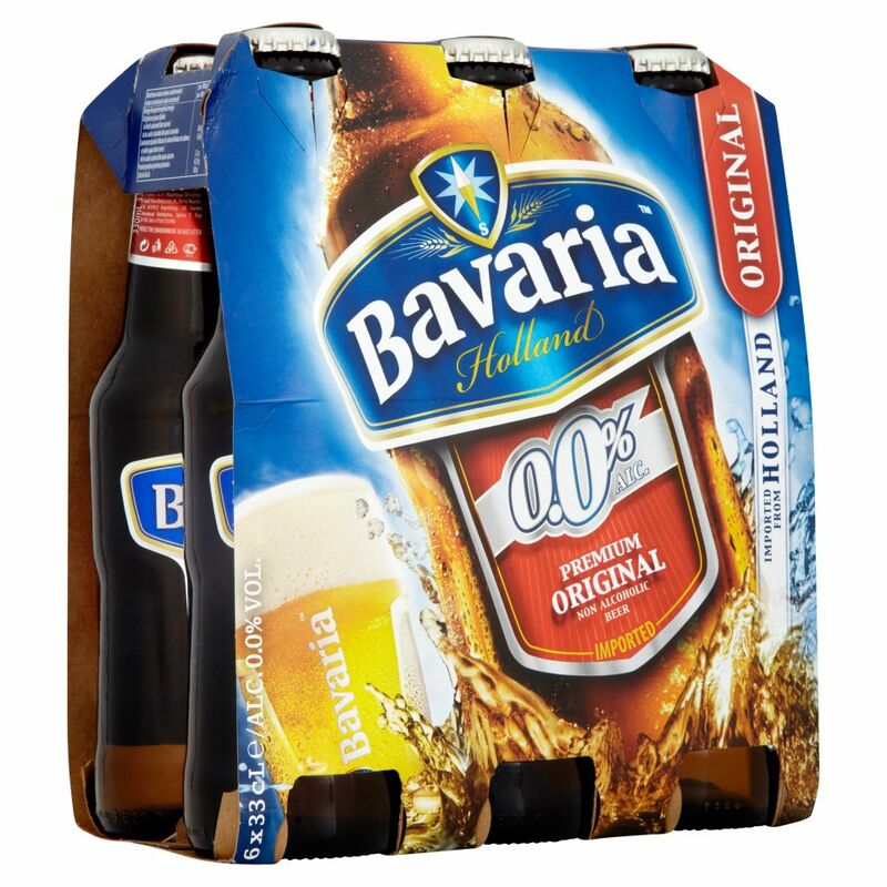 Bavaria 0.0% Premium Original Non Alcoholic Beer 6 x 33cl