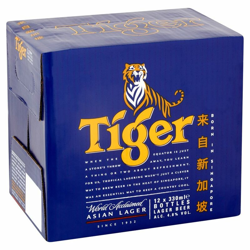 Tiger Asian Lager 12 x 330ml