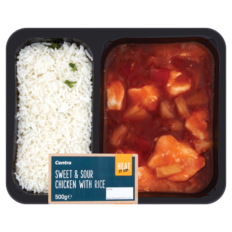Centra Heat It Up Sweet   Sour Chicken with Rice 500g