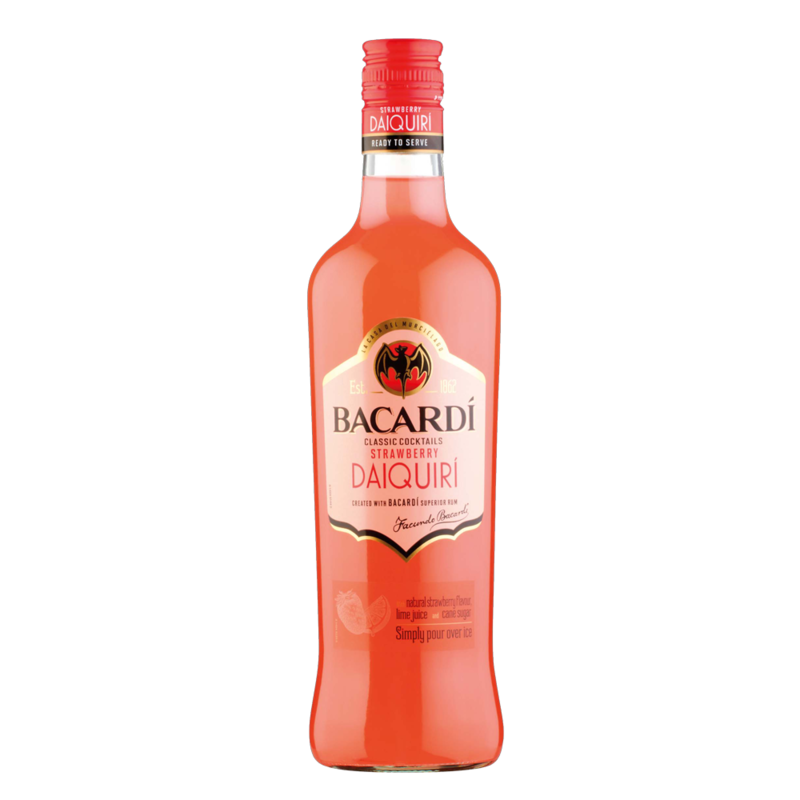 Bacardi strawberryDaquiri 70cl
