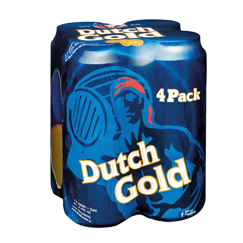 DutchGold canPack 4x500ml