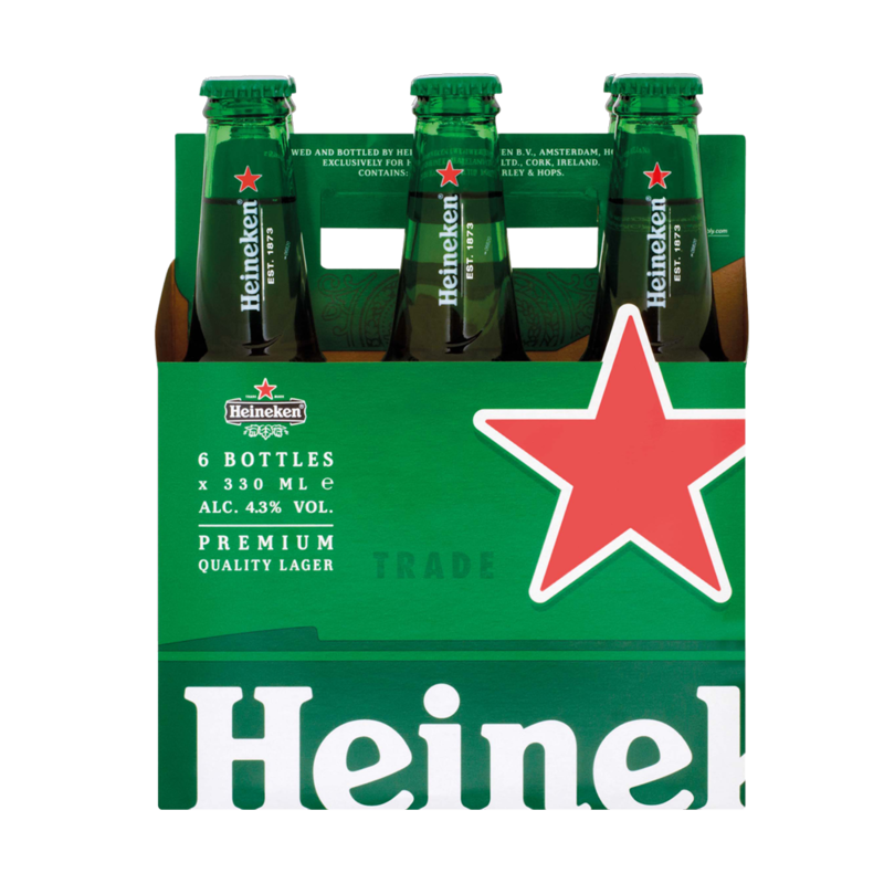 Heineken bottlePack 6x330ml