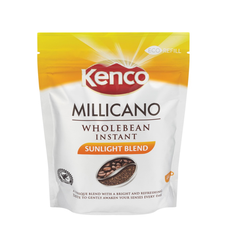 Kenco Millicano Sunlight Blend Wholebean Instant Coffee Refill 80g