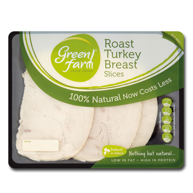 GreenFarm roastTurkeySlices 120g