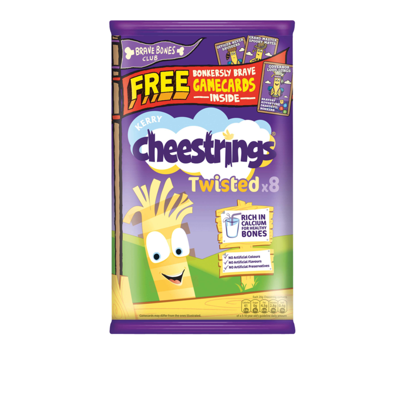 Cheestrings Twisted 8pk 160g