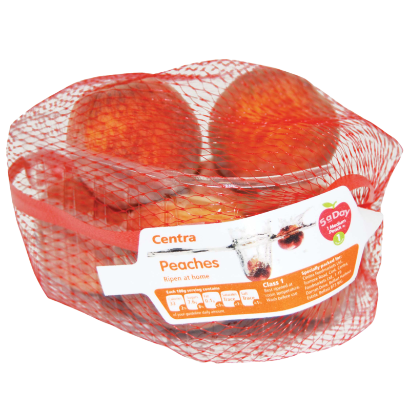 CT Peach Punnet