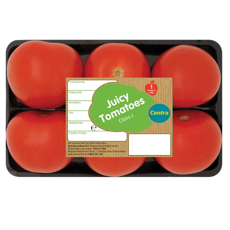 CT Tomatoes Tray x 6
