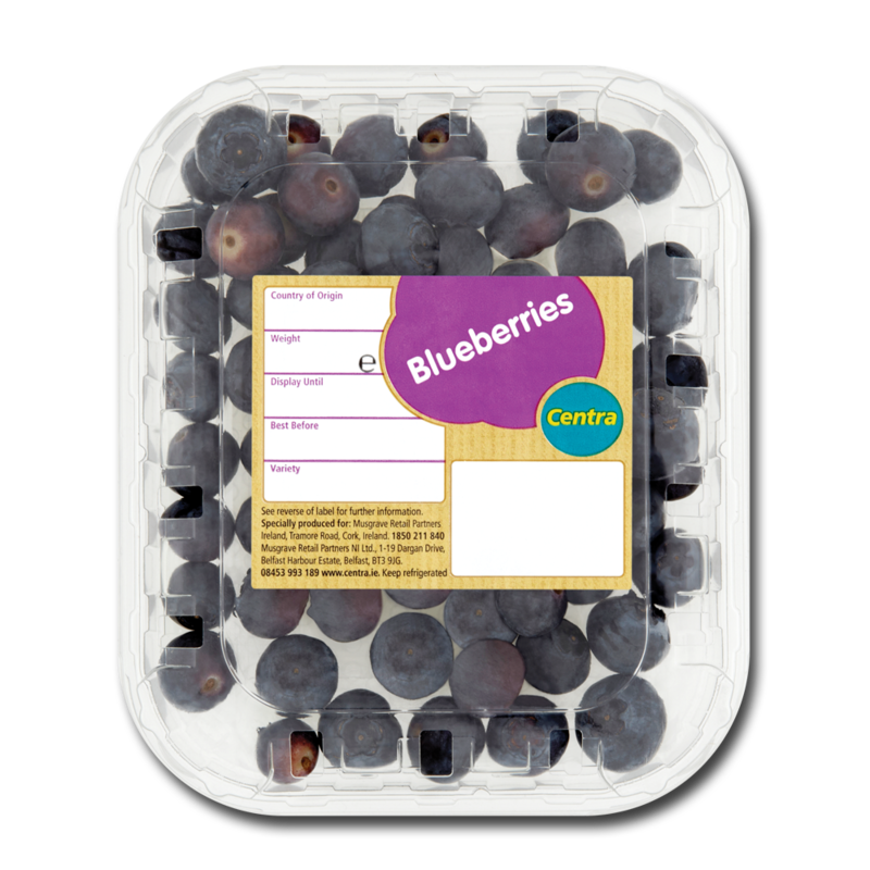 CT blueberries125g