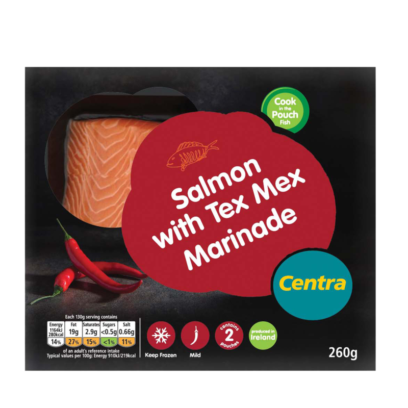CT salmon texMex 260g