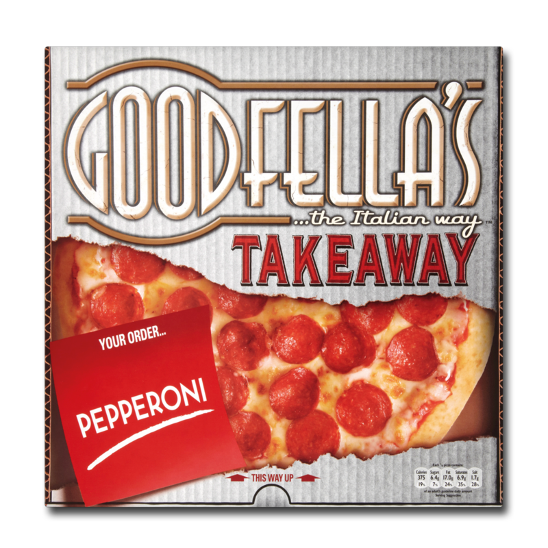 Goodfellas takeawayPizza pepperoni